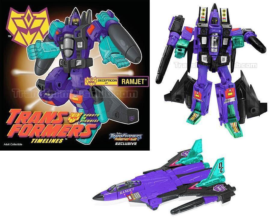 NOUVEAU  G2 Ramjet  Transformers botcon 2011 CLUB EXCLUSIVE Comme neuf IN BOX Classics 100% Figure  garantie de crédit