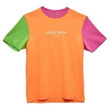 456e04f6f92 Guess Farmers Market tee Orange Size Medium M Multi Sean Wotherspoon T  Shirts
