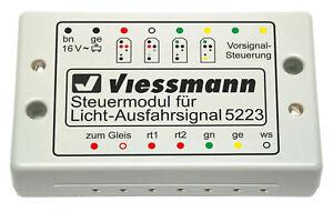 Viessmann-5223-Module-de-Commande-Pour-Licht-Ausfahrsignale-Neuf