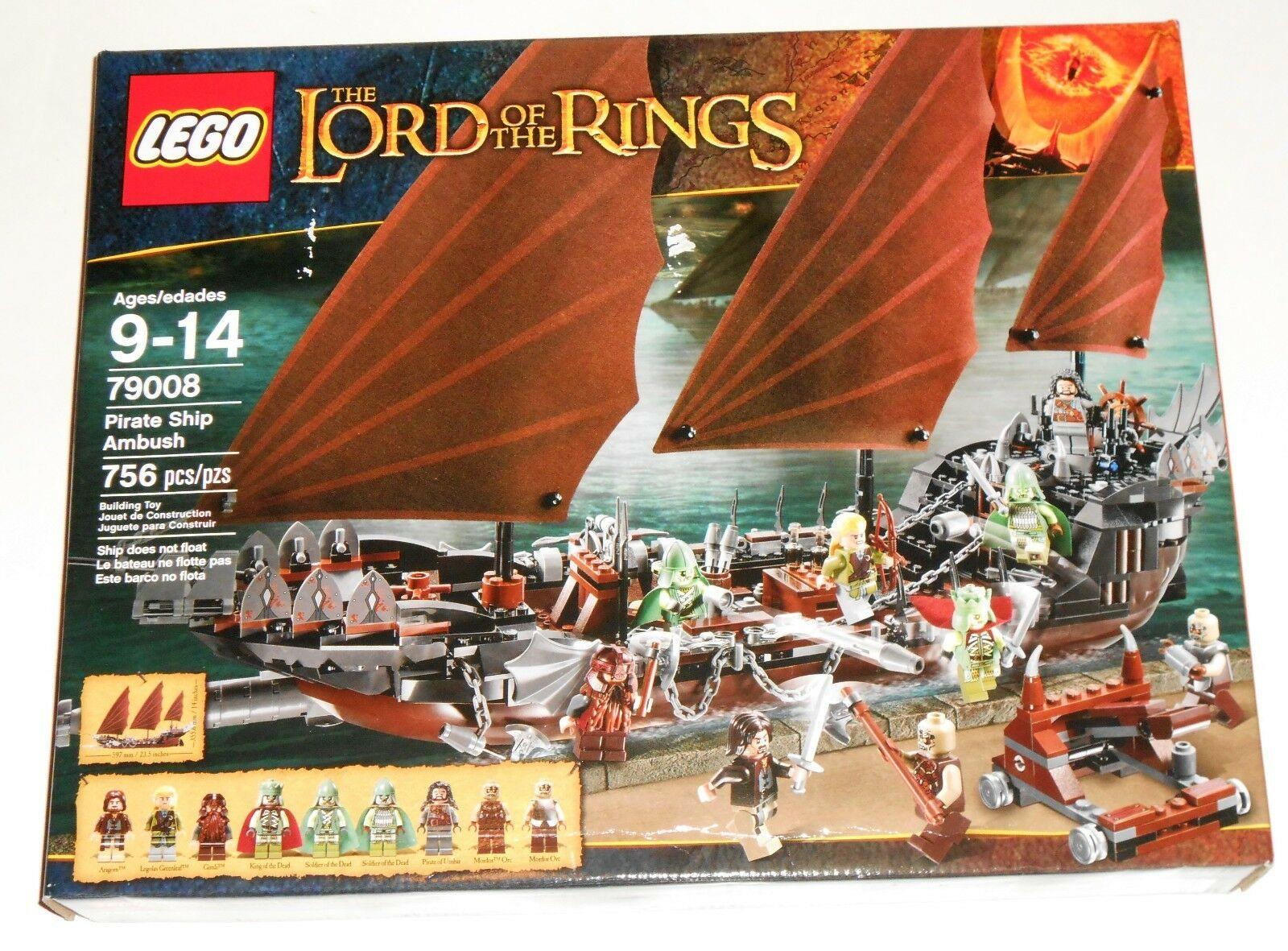 LEGO The Lord of the Rings 79008 Pirate Ship Ambush