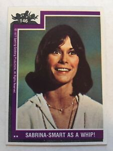 1977-Topps-Charlie-s-Angels-146-Sabrina-Smart-As-A-Whip