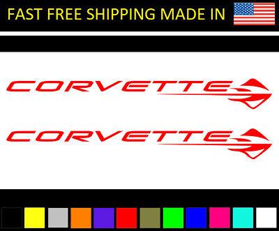 Small Fender Vent Z51 Decals Small Pair C6 C7 Corvette 2005-2014