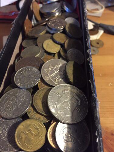 Nice Starter Lot! Huge Mixed Bulk Lot of 1000 Assorted World//Foreign Coins
