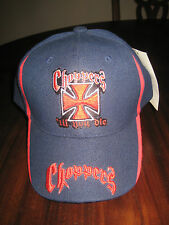 Choppers Ball Cap in Navy Blue August Sportswear Junior Size for Boys New