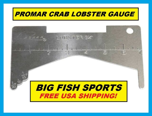 #AC-310 FREE USA SHIPPING! LOBSTER GAUGE by PROMAR Aluminum NEW