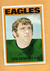 1972 TOPPS FOOTBALL TOM DEMPSEY CARD