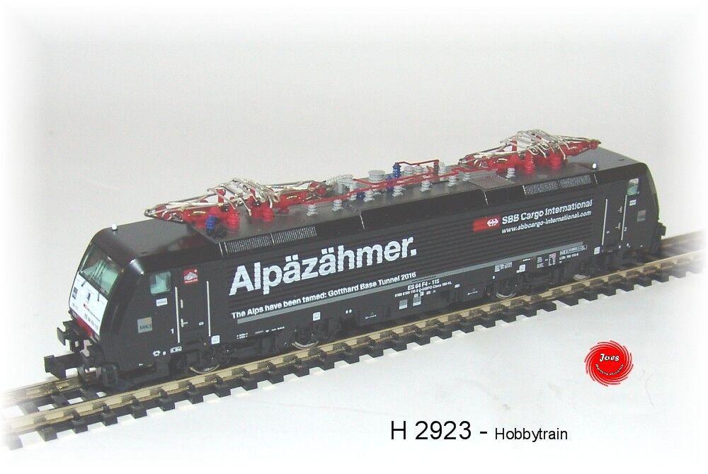 Hobbytrain 2923 S locomotora eléctrica Serie 189 Siemens ES64F4 SBB Cargo,