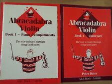 Violín Abracadabra Libro 1 Violin + Piano parte, pág. Davey