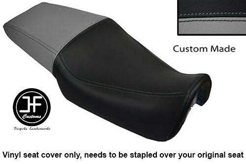 BLACK STITCH CUSTOM FITS HONDA NSR 125 88-98 JC20 DUAL LEATHER SEAT COVER