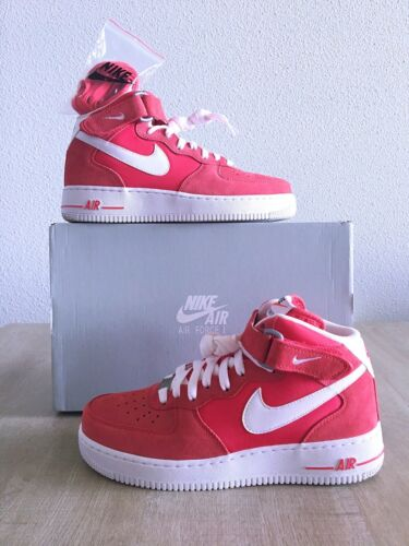 1 'Fusion Mid Force 07 Air Nike Taille 7us Rouge 6uk 40eu Xxq6nE4R