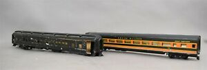 Varney-Empire-Builder-Great-Northern-Wooden-Passenger-Train-Cars-HO-A-lot-Of-2