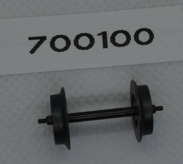 4 x Präzisions-Radsatz Märklin//Röwa//Trix Lkdm 11,0 Zapfenachse 25,4 mm H0 DC