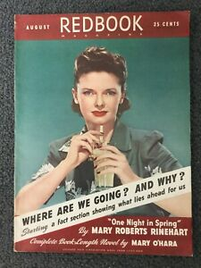 August-1941-REDBOOK-Magazine-Women-039-s-Interest