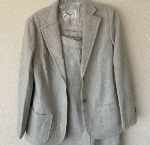 Vintage San Korea Mr O's Suit Blazer/skirt 1970's