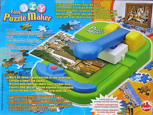 puzzle maker puzzlemaschine puzzle selber machen ebay. Black Bedroom Furniture Sets. Home Design Ideas
