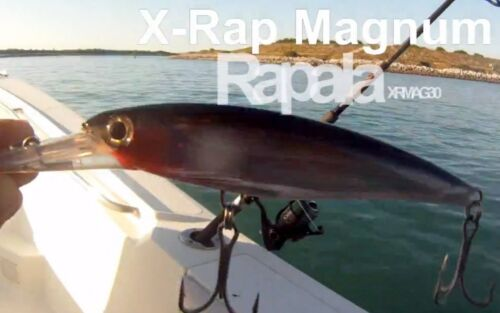 Run up to 13 Knots-Pick Your Color Dives 30 Feet Rapala X-RAP Magnum 30 Lure