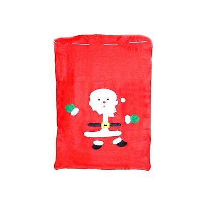 1pk Christmas Santa Sack Red Father Xmas Sack 50x60cm Gift Bag Decorations DesempeñO Confiable
