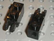 2 x LEGO black Hinge Brick 30365 / Set 10019 8016 7190 4535 7673 7678 7256 7283