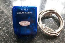 Devolo dLAN  14Mbps 1144 compatible homeplug ethernet powerline adaptor mt 2070