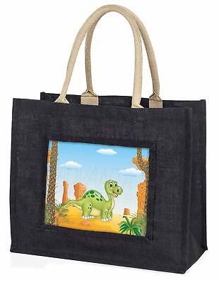 Kinder Dinosaurier Große schwarze Einkaufstasche Weihnachten