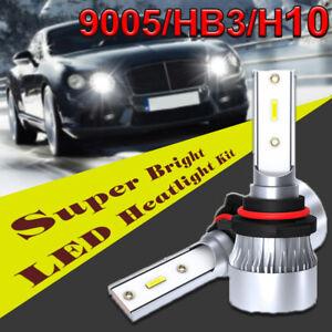 Coppia-9005-HB3-H10-60W-6000LM-LED-Faro-Kit-Di-Conversione-Lampadine-Fascio-Auto