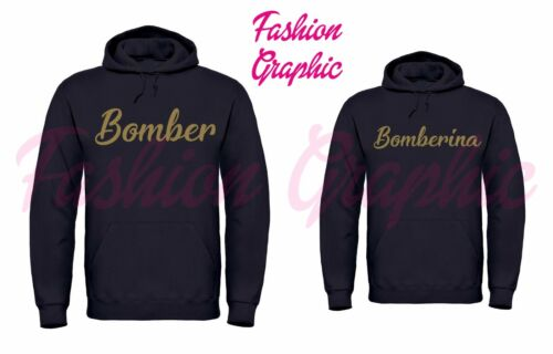 Hoodies Pull Bomber Amour Homme Femme Offre Bomberina Noir Paire w6S5qq