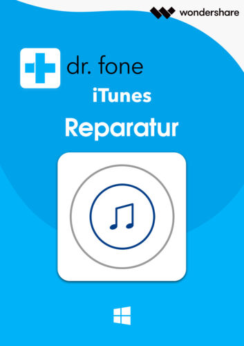 Wondershare Dr Fone iTunes riparazione 1-anno licenza download!