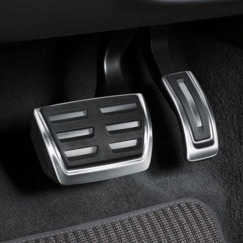 Audi a6 a7 4k Acier Inoxydable Pédale Casquettes 4k1064205 Set S Tronik automatique