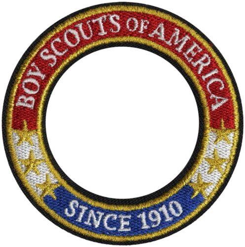 BOY SCOUT OF AMERICA BSA OFFICIAL UNIFORM 1910 WORLD CREST RING EMBLEM BRAND NEW