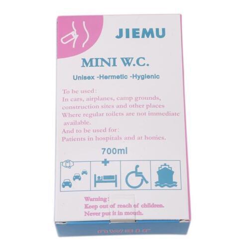 Urine Pee Bag Storage Pocket Car Portable Toilet For Traffic Jam Emergency S