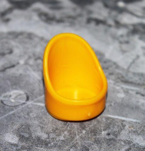 *Petite chaise jaune de la citrouille mystérieuse VULLI Vintage