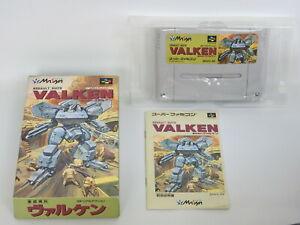 VALKEN-Assault-Suits-Ref-371-Super-Famicom-Nintendo-Japan-sf