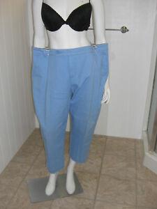 Style-amp-Co-Women-039-s-Size-18-Capris-Light-Blue-Cotton-Casual-Jean-Pants