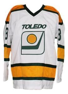 Any Name Number Size Toledo Goaldiggers Retro Custom Hockey Jersey White