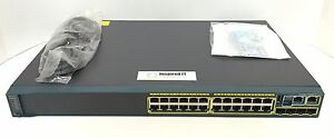 WS-C2960S-24TS-L-Cisco-Catalyst-2960S-24-GigE-4-x-SFP-LAN-Base-Same-Day-Ship