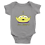 Infant-Baby-Rib-Bodysuit-Jumpsuit-Babysuits-Clothes-Gift-Toy-Story-Alien-Green thumbnail 9