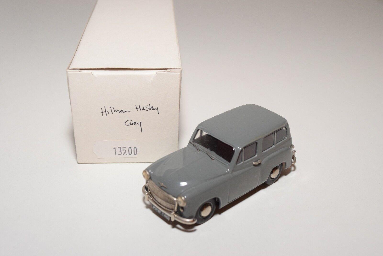 EMMY MODELS MASTERPIECE HILLMAN HUSKY gris MINT BOXED RARE