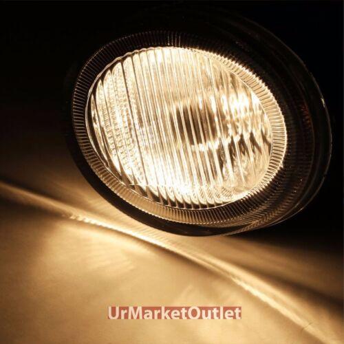 Clear Lens OE Front Bumper Fog Light Lamp+Bulb For Nissan 02-03 Maxima A33