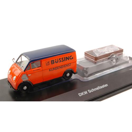 DKW SCHNELLASTER BUSSING 1 43 Schuco Veicoli Commerciali Die Cast Modellino