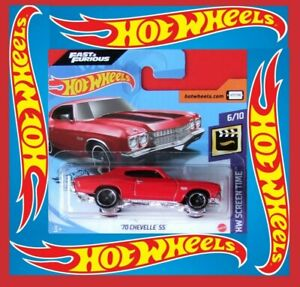 Hot-Wheels-2020-039-70-Chevelle-SS-Fast-amp-Furious-236-250-neu-amp-ovp