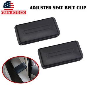 2-Car-Seat-Belt-Stopper-Clip-Buckle-Comfort-Safety-Strap-Adjuster-Shoulder-Relax