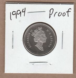 1994-Canadian-25-Cent-From-the-Proof-Set