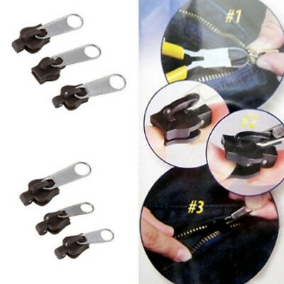 Kit relámpago 6 unidades reparación bolsas zapatos fix ropa zip piccoli medi
