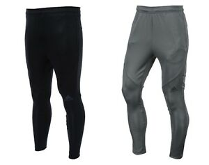 5f8b107a2a Details about Adidas Men Workout Climalite Training Pants L/S Gray Black  Football Pant CG1509