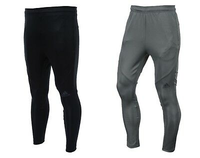 Adidas Men Workout Climalite Training Pants L S Gray Black Football Pant Cg1509 Ebay