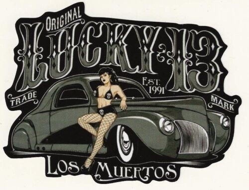 OEM//JDM//stickerbombing//tuning Los Muertos autocollant//sticker//hot rod//youngtimer