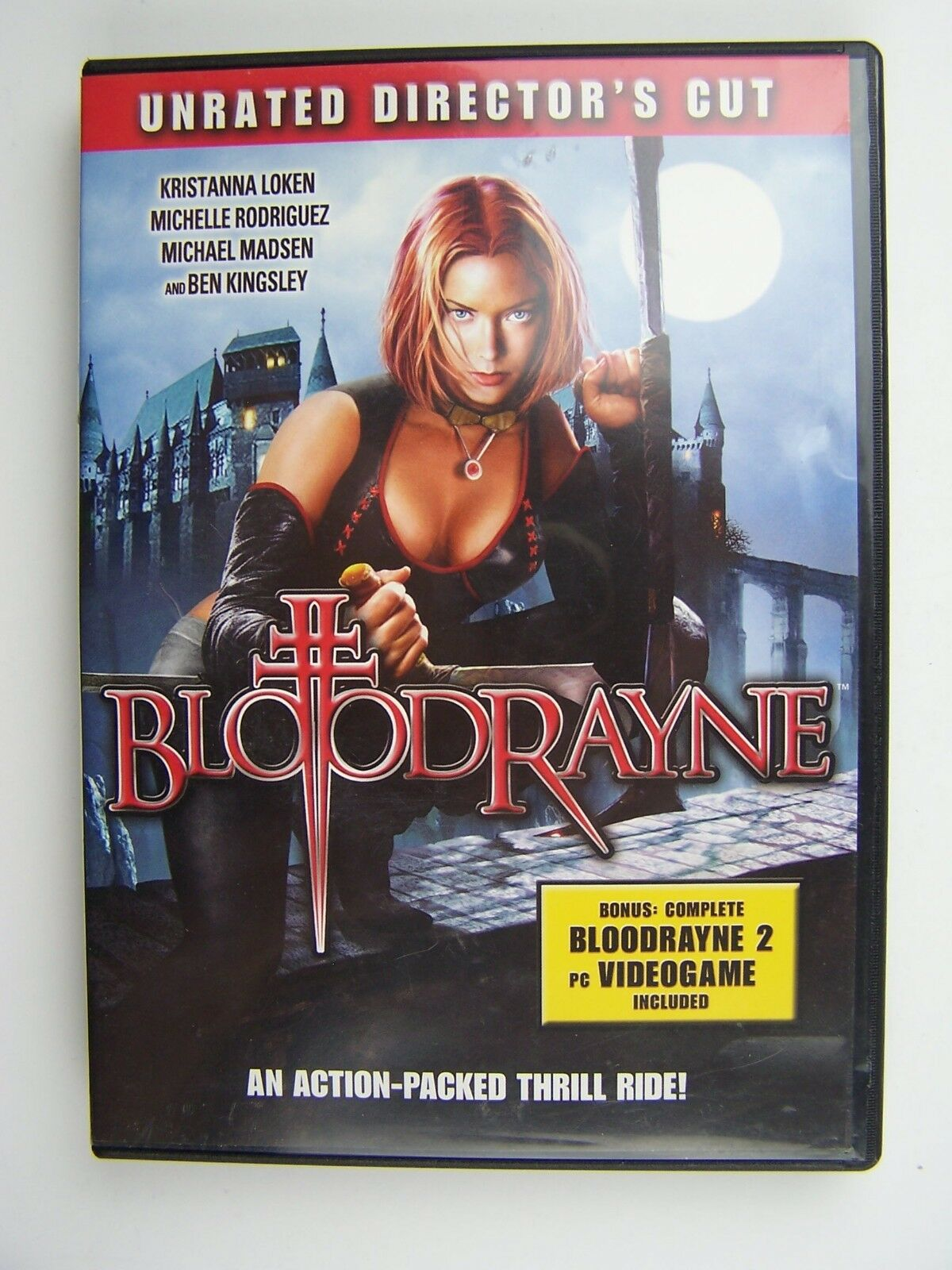 Bloodrayne Unrated Director's Cut DVD 689721390289