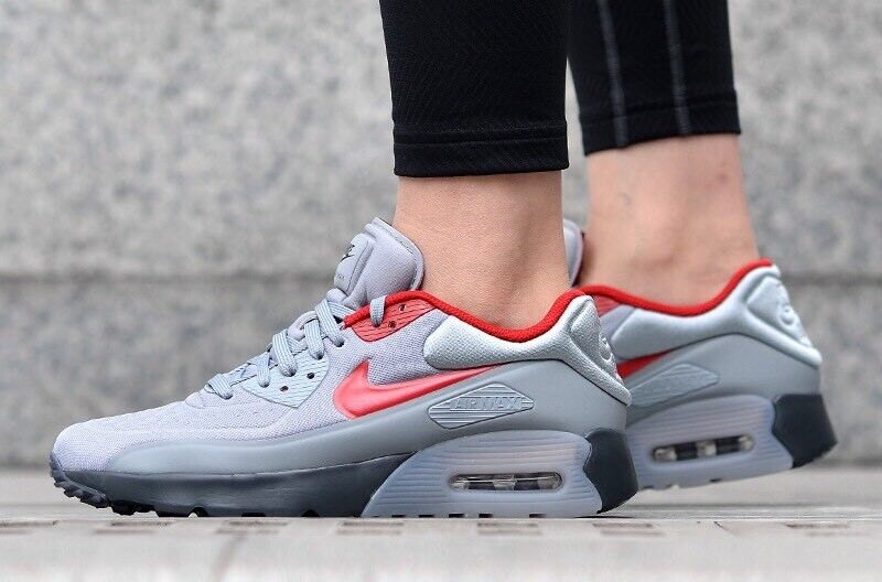 Nike Ultra Air Max 90 Ultra Nike Se GS Youth 844599-007 Grau ROT UK 5 EU 38 US 5.5Y New 6c9a1b