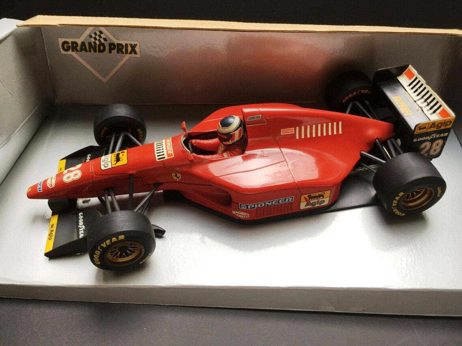 lo último Minichamps - Gerhard Berger - Ferrari - 412T1 - 1994 1994 1994 - 1 18 - Rare  Entrega directa y rápida de fábrica
