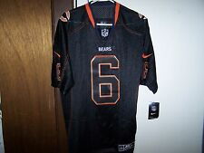 Jay Cutler #6 CHICAGO Bears Jersey Nike Elite Size 40 On Field - BLACK -NEW/TAGS